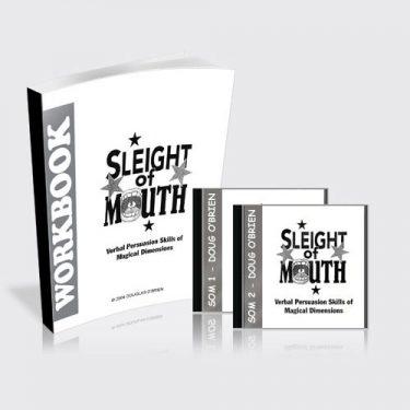 Sleight of Mouth Workbook & CDs
